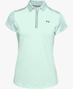 Women's UA Zinger Zip Short-Sleeve Polo